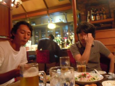 平成23年8月30日  イベント「一夜市」打ち合わせ。 013