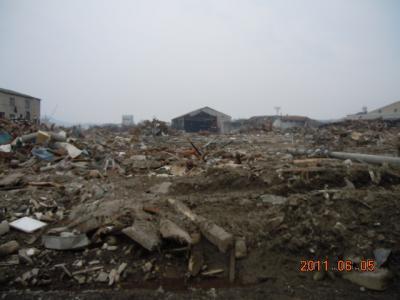 平成23年  6月5日  気仙沼被災地ボランティア 208