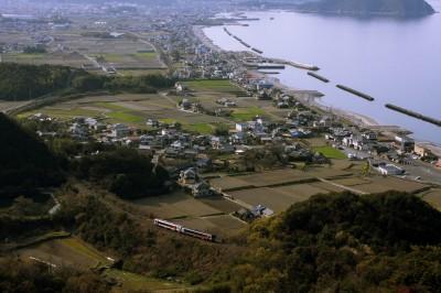 大阪峠からの眺望