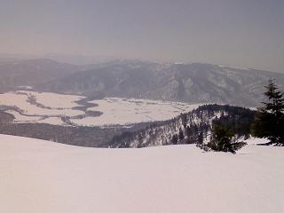 景鶴山より尾瀬ケ原を望む