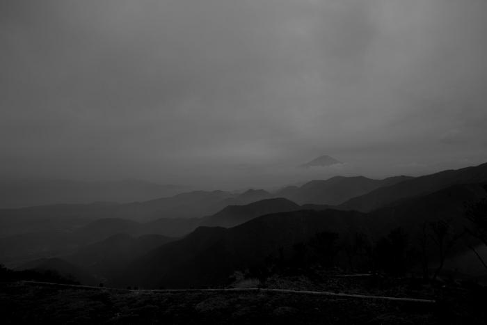三ノ塔から富士山