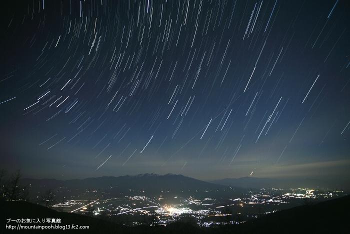 八ヶ岳夜景