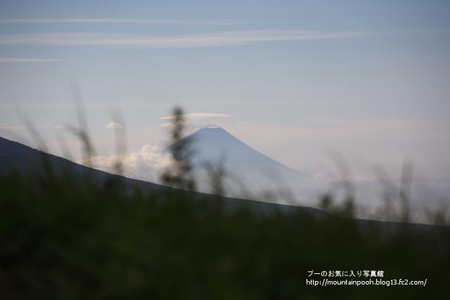 車山-富士山