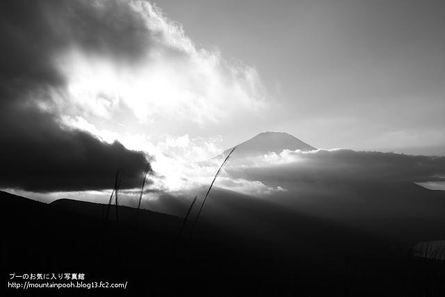 Mt.Fuji(モノクロ)