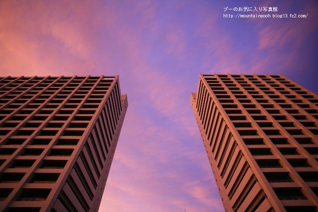 2棟のビル