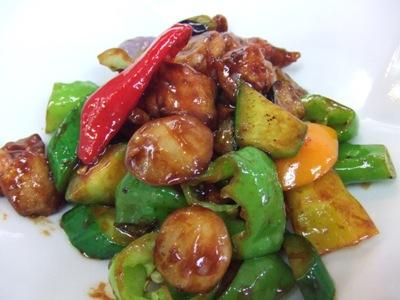 2011_0729匠美鶏と夏野菜の甘味噌炒め