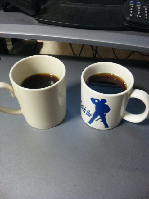 コーヒー エメラルドマウンテンとコピ・ルアック