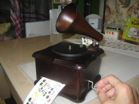 蓄音器型オルガニート