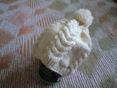 100124毛糸の帽子