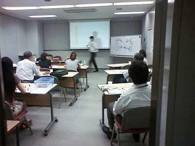 川上先生の講義風景