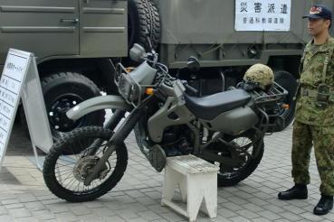 カワサキKLX250陸上自衛隊仕様2011静岡ホビーショー