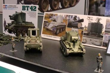 2011静岡ホビーショータミヤ1/35フィンランド陸軍BT42