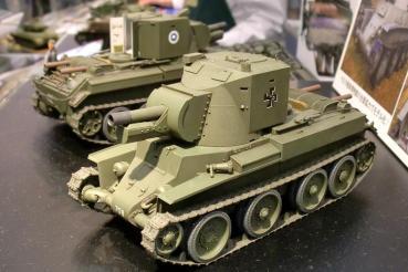 タミヤ1/35フィンランド陸軍BT42 第50回静岡ホビーショー