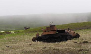 占守島の戦い 1945年 九七式中戦車