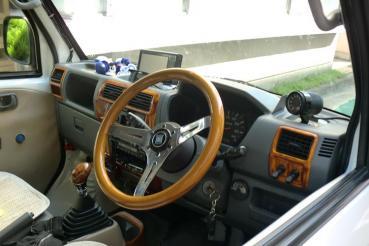 AR30周年 ミニキャブ 運転席
