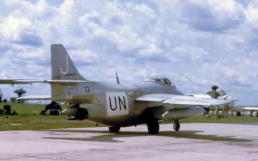 サーブJ29 コンゴ動乱 国連軍