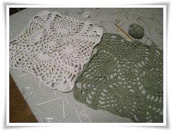残り糸編み
