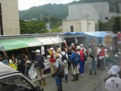 震災ボランティア キャンプツーリング 099
