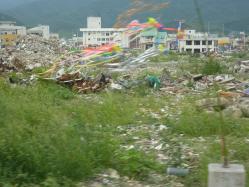 震災ボランティア キャンプツーリング 040