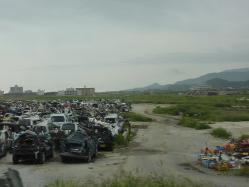 震災ボランティア キャンプツーリング 057