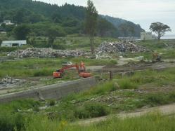 震災ボランティア キャンプツーリング 074