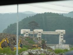 震災ボランティア キャンプツーリング 060