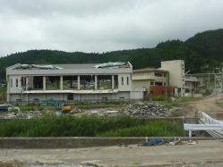 震災ボランティア キャンプツーリング 079