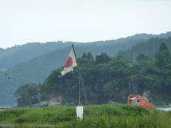震災ボランティア キャンプツーリング 096