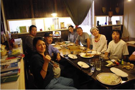 NHKの撮影後パチリ