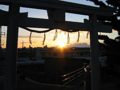 八幡太初日の出