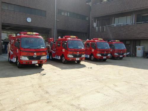 10月16日消防車1