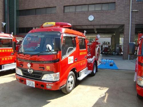 10月16日消防車2