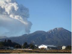 2011年2月1日、新燃岳の噴火