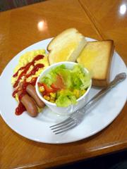 熊本交通センター内のUCCコーヒーショップセンタープラザ店でモーニング!