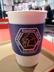 秋葉原のGUNDAM CAFE(ガンダムカフェ)に潜入!