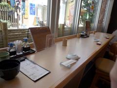 上通りの寿司和食さつき上乃裏通り店で寿司ランチ。