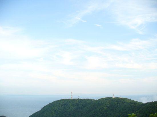 津軽海峡の方向