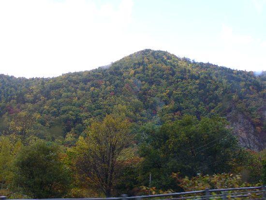 紅葉の定山渓