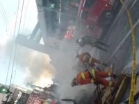 火事 現場