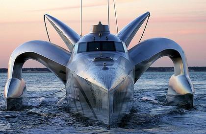 シーシェパード新型船