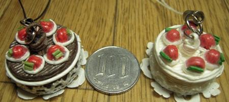エコクラフト素材のケーキ