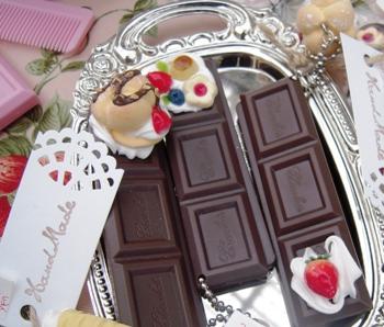 チョコレート くし