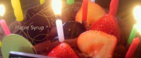 Happy Birthday・(笑)