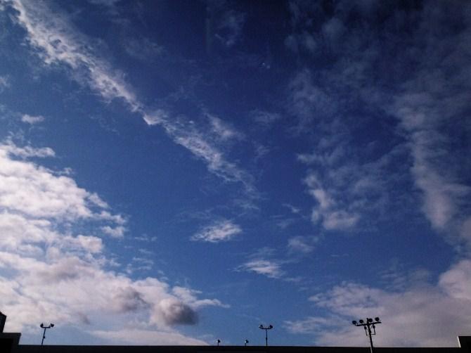 1月7日の空