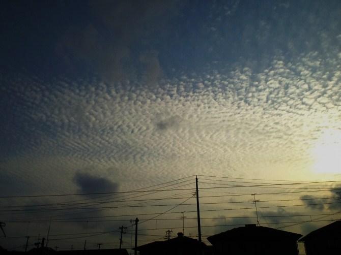 ウロコ雲2.22
