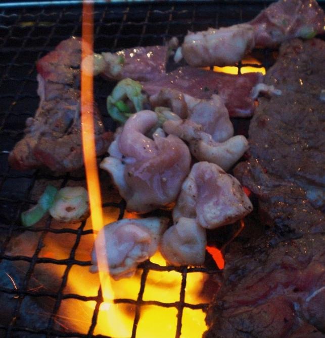 寒中BBQ