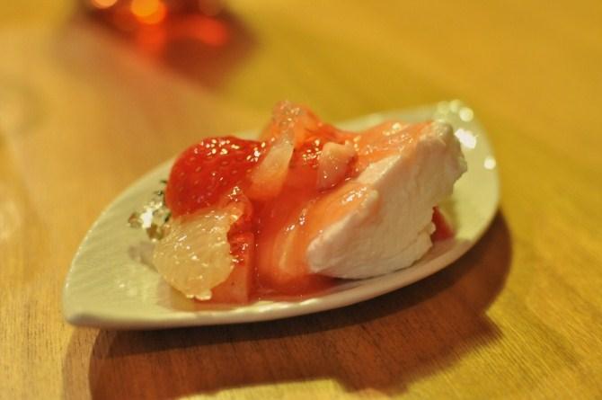 苺のムース