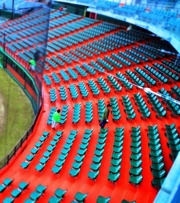 新・開成山野球場