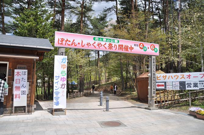 花と泉の公園