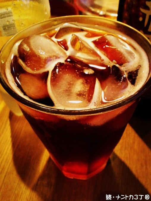 赤ワイン+トニック
